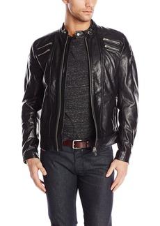 Diesel Men's L-Neilor Leather Jackets
