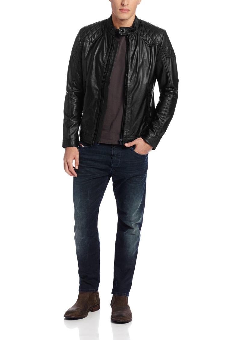 Diesel Men's Laleta Leather Jacket