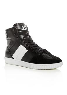 Diesel Men's Millenium Leather High-Top Sneakers