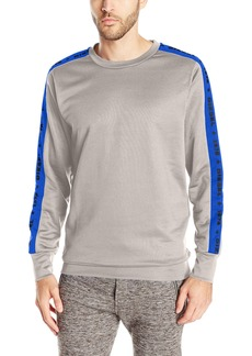 Diesel Men's Motion Division Polyester Lounge Crew Neck