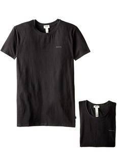 Diesel Men's Randal 2 Pack Essentials Crew Neck T-Shirt