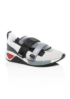 Diesel Men's S-KB Chunky Strap Leather Low-Top Sneakers
