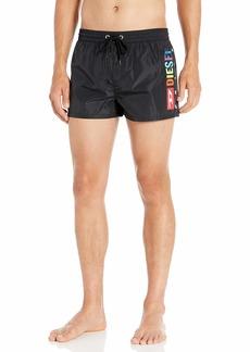 Diesel Men's Sandy 2.017 Swim Trunk Boxer Short  M