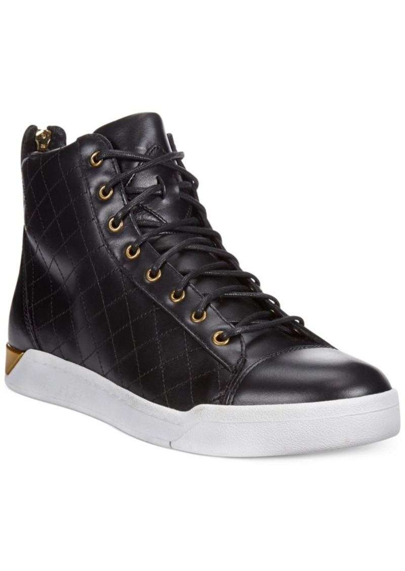 Diesel Diesel Men's Tempus Diamond Leather Sneakers Men's ...