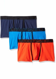 Diesel Men's UMBX-DAMIENTHREEPACK Boxer 3pack Microfiber Blue/red XL
