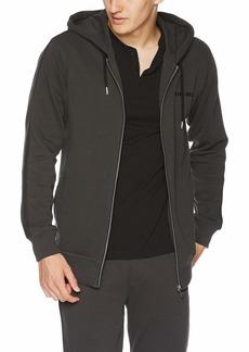 Diesel Men's UMLT-Brandon-Zip UP Varsity Sweatshirt  S