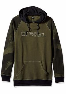 Diesel Men's UMLT-Brian Hooded Sweat-Shirt  L