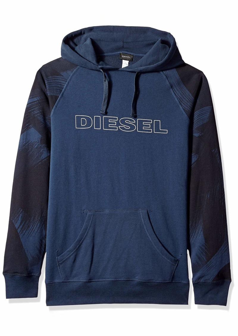Diesel Men's UMLT-Brian Hooded Sweat-Shirt  S