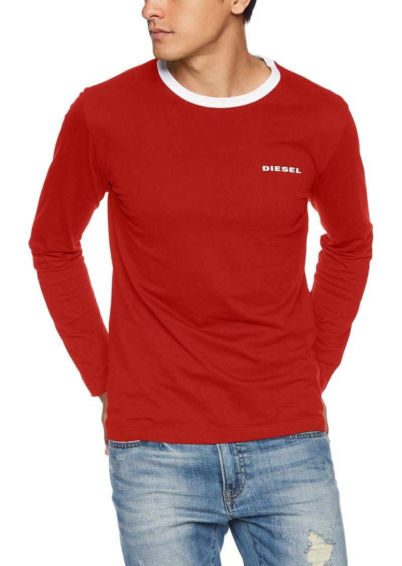 Diesel Men's UMLT-Justin T-Shirt L/S Vibrant/red M