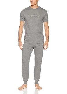 Diesel Men's Umset-Jake-Julio Pajama Gift Set  XL