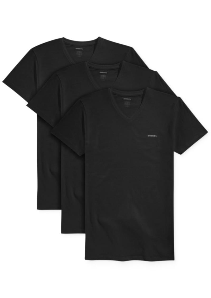 Diesel Men's V-Neck Undershirts, 3-Pack
