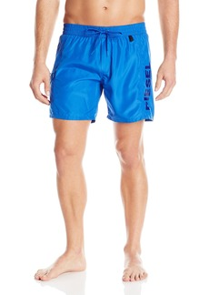 Diesel Men's Wave 6 Inch Quick Dry Fold and Go Swim Trunk