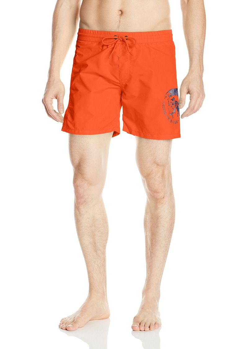 7e1f72cdd8 Diesel Diesel Men's Wave 6 Inch Solid Logo Swim Trunk | Swimwear