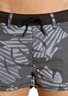 Diesel Men's Wayeeki Palm Short 12inch Swim Trunk