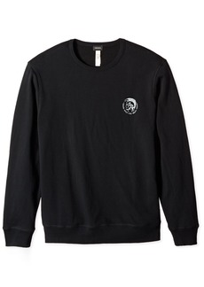 Diesel Men's Willy Mohican Lounge Crew Sweat Shirt  M