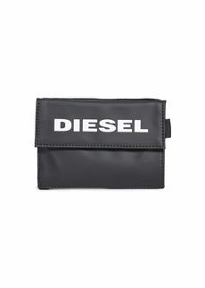 Diesel Men's YOSHI WALLET WITH KEYRING black UNI
