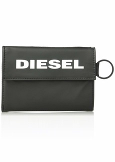 Diesel Men's Yoshi Wallet with Keyring black UNI