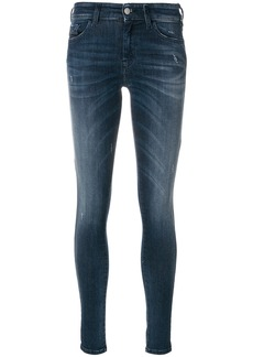 Diesel mid-rise skinny jeans - Blue