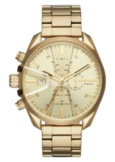 DIESEL® MS9 Chronograph Bracelet Watch, 47mm x 54mm