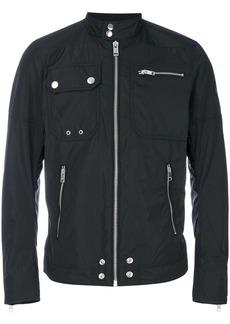 Diesel multi-zip bomber jacket