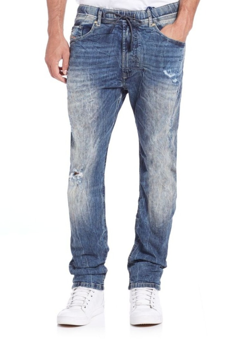 Diesel Narrot Distressed Jogger Jeans
