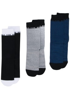 Diesel 'Only the Brave' 3 pack socks