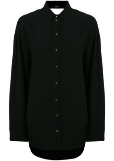 Diesel oversized cut out back shirt