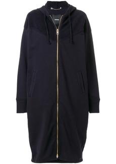Diesel oversized zip-up hoodie - Blue