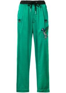 Diesel P-Fine-FL track pants - Green