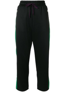 Diesel P-Logan cropped track pants - Black