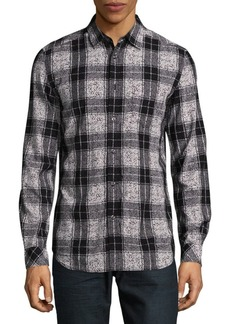 Diesel Patterned Button-Down Shirt