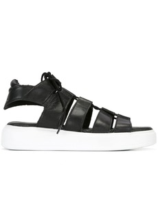 Diesel platform sandals - Black