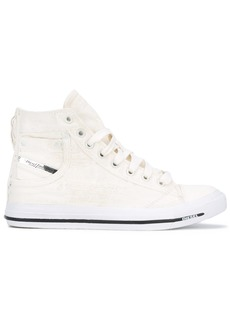 Diesel pocket detail hi-tops - White
