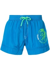 Diesel printed swim shorts - Blue