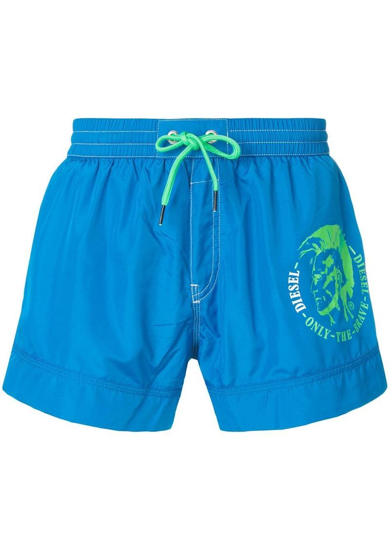 6cad5c9918d3f Diesel Diesel printed swim shorts - Blue | Swimwear