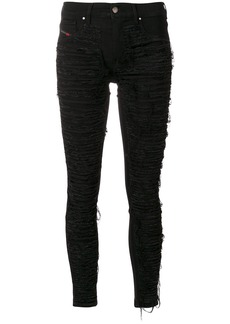 Diesel ripped pants - Black
