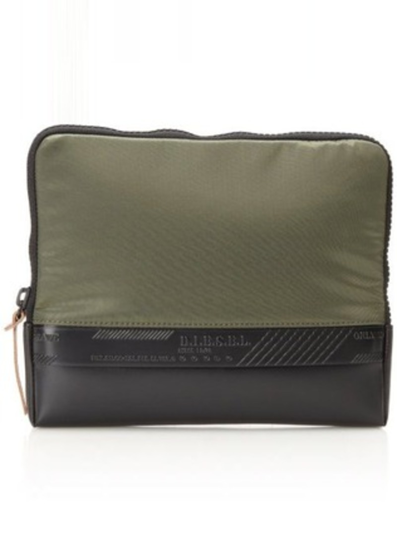 Diesel Rubber Hart Bit Laptop Bag