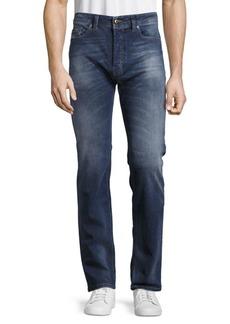 Diesel Safado Straight-Leg Cotton-Blend Jeans