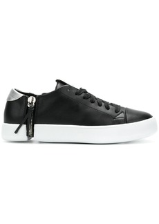 Diesel side zip sneakers - Black
