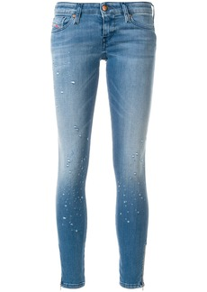 Diesel Skinzee-low-zip 084PX jeans - Blue