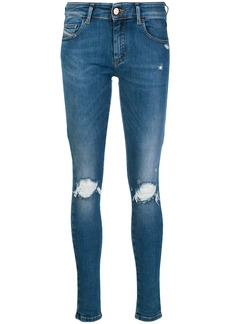 Diesel Slandy-Low 084UF skinny jeans - Blue