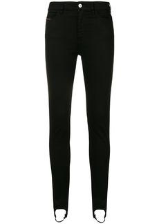 Diesel Slandy stirrup jeans - Black