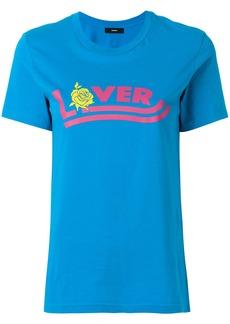 Diesel slogan-print T-shirt - Blue