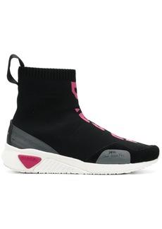 Diesel sneaker sock boots - Black