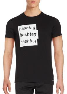 Diesel Solid Cotton T-Shirt