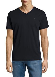 Diesel Solid V-Neck T-Shirt