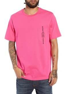 DIESEL® T-JUST-POCKET Embroidered Pocket T-Shirt