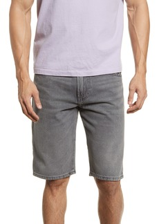 DIESEL® Thoshort Denim Shorts (Grey Denim)
