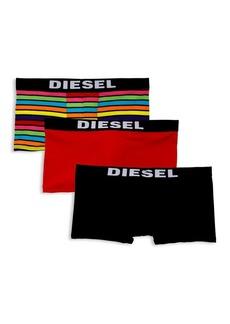 Diesel Three-Pack Boxer Trunks