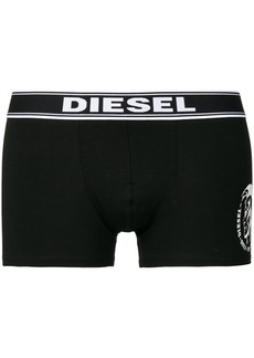 Diesel three pack logo boxers